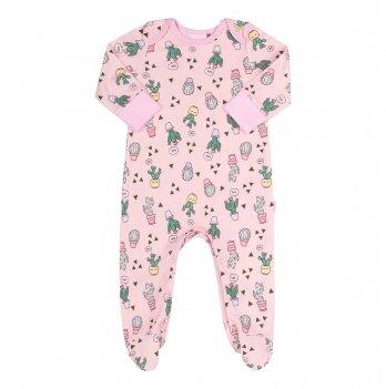 Человечек для девочки Bembi Розовый Интерлок КБ152