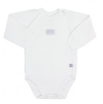 Боди - распашонка для новорожденного Smil, с длинным рукавом, белый