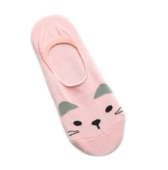 Носки-следы для девочек Модный карапуз, розовые