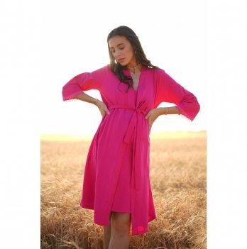 Халат для беременных To Be Малиновый 3057041