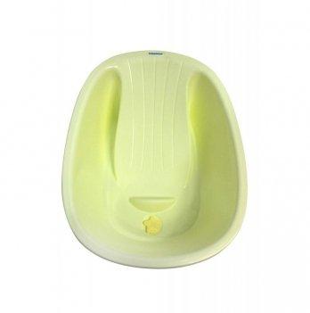 Ванночка Babyhood ПоПо BH-309Y лежачая жёлтый