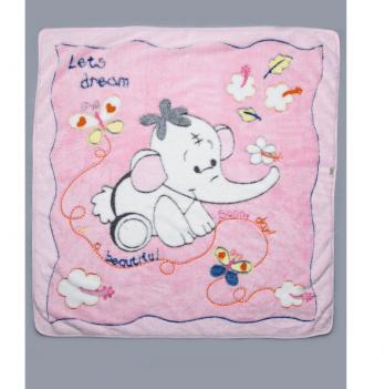 Одеяло детское Модный карапуз, розовое