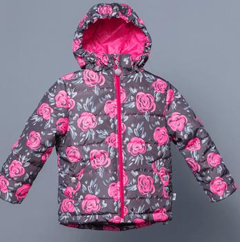 Куртка демисезонная для девочки Модный карапуз