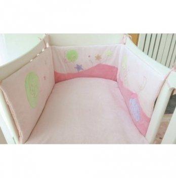 Защита для кроватки Kaloo розовый