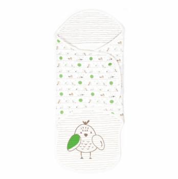 Пеленка-кокон на запах Veres Funy sparrows интерлок