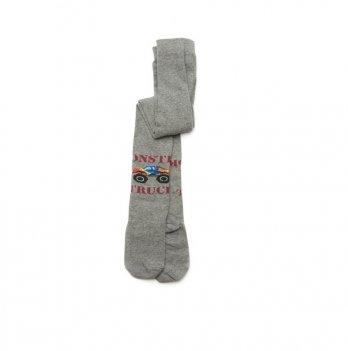 Колготки для мальчика Модный карапуз Monster track Серый 101-00901