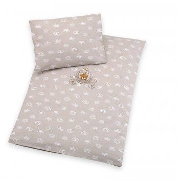 Комплект детского постельного белья бязь Selonya Idea 8-10446 бежевый 2 предмета