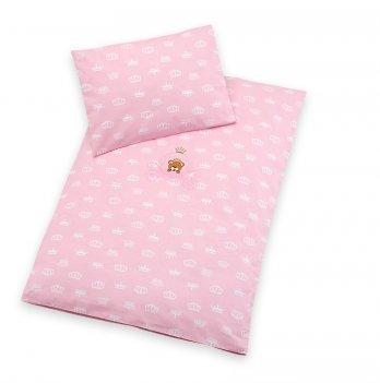 Комплект детского постельного белья бязь Selonya Idea 8-10446 розовый 2 предмета