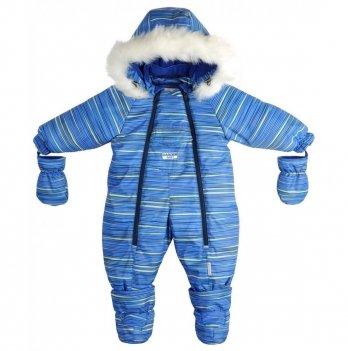 Комбинезон-трансформер для мальчиков Garden baby, синяя полоска