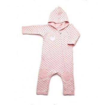 Комбинезон для девочки Модный карапуз, розовый
