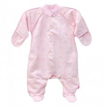 Человечек для новорожденных Minikin розовый 00301