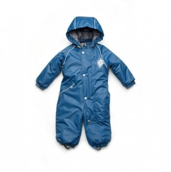 Зимний комбинезон Модный карапуз Синий 03-00935 1-4 года