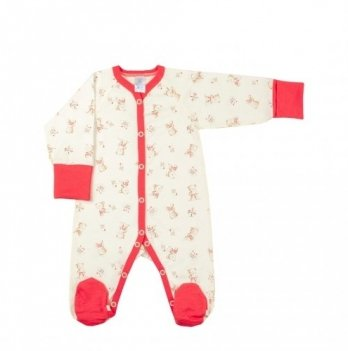 Комбинезон Veres Little Bear pink кулир
