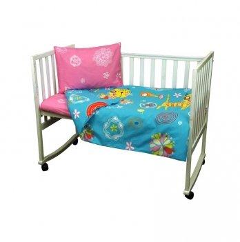 Комплект постельного белья в детскую кроватку Руно 932.116 Yellow cat 3 предмета
