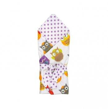 Одеяло-конверт ТМ Руно Совы, двухстороннее
