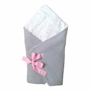 Конверт на выписку для новорожденного Cotton Living Little Star Pink
