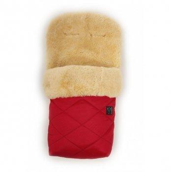 Зимний конверт на овчине Kaiser Natura Красный