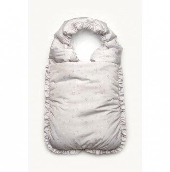 Зимний конверт для новорожденного Модный карапуз Серый 03-00894
