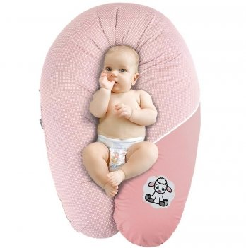 Подушка для беременных и кормления Idea Standart Горох пудра