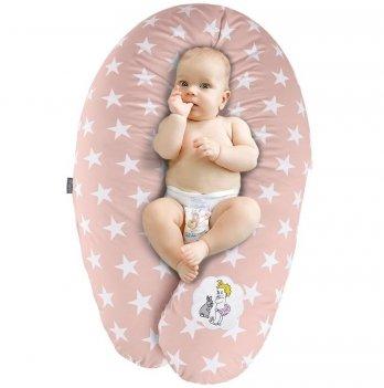 Подушка для беременных и кормления Idea Standart Звезда большая пудра