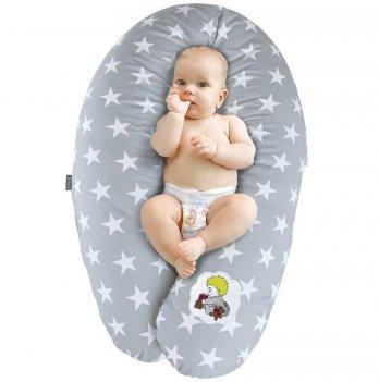Подушка для беременных и кормления Idea Standart Звезда большая серый