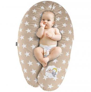 Подушка для беременных и кормления Idea Standart Звезда большая беж