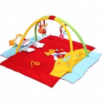 Развивающий коврик складной BabyOno Клоун, 494