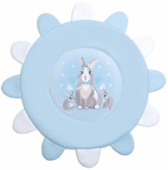 Коврик игровой Veres Summer Bunny Голубой 100х100 см