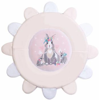 Коврик игровой Veres Summer Bunny Розовый 100х100 см