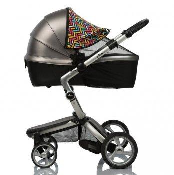 Солнцезащитный козырек для коляски ДоРечі, Color Must Have Shade, 2 в 1, с черной москитной сеткой