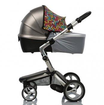 Солнцезащитный козырек для коляски ДоРечі, Color Must Have Shade, 2 в 1, с белой москитной сеткой