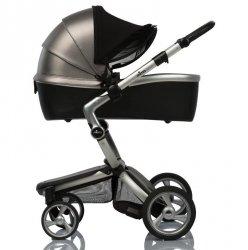 Солнцезащитный козырек для коляски ДоРечі, Double Shade, черный