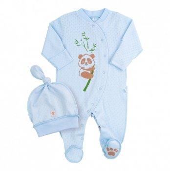 Комплект для мальчика Bembi Голубой Рибана КП216