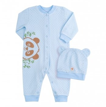 Комплект для мальчика Bembi Голубой Рибана КП217