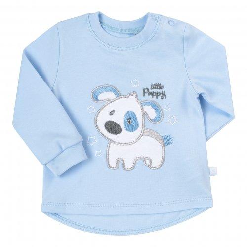 Комплект для мальчика Bembi Голубой/Серый Интерлок КП223