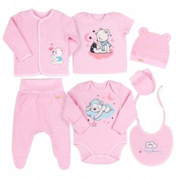 Комплект для девочки Bembi Розовый Интерлок КП229