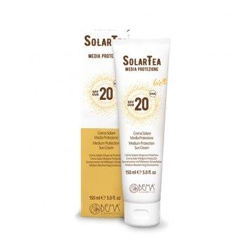 Крем солнцезащитный со среднем уровнем защиты SPF 20 High Protection Sun Cream, 150мл, Bema Cosmetici