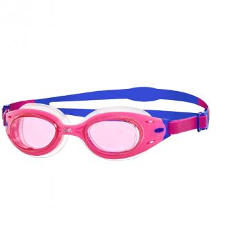 Очки для плавания Zoggs Sonic Air Jnr, возраст 6 - 14 лет, розовые