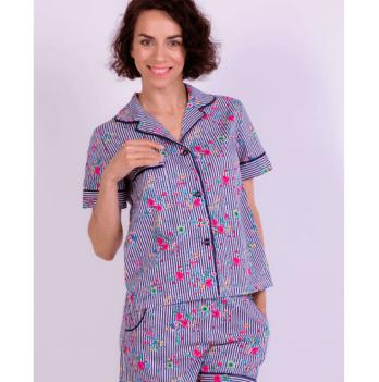 Пижама с шортиками женская Рjmood Цветочная коллекция