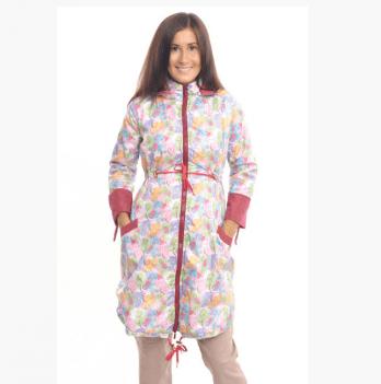 Куртка демисезонная для беременных Мamasik двухцветная