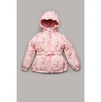 Демисезонная куртка для девочки Модный карапуз Голубой 03-00842