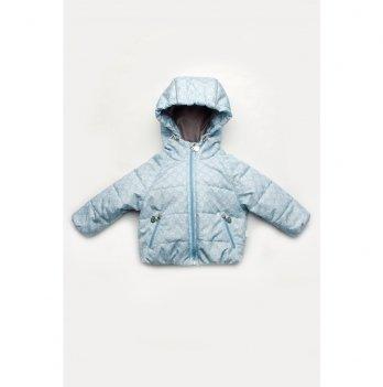 Демисезонная куртка для малышей Модный карапуз Голубой 03-00841
