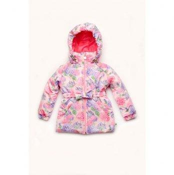 Куртка для девочки демисезонная Модный карапуз Гортензия Розовый 03-00947
