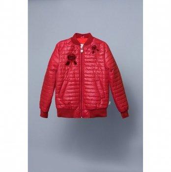 Куртка-ветровка для девочки Модный карапуз Iris, бордовая