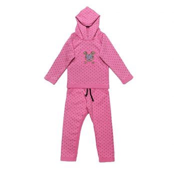 Костюм детский из трехнитки для девочки Модный карапуз