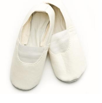 Чешки (кожа+экокожа) детские Модный карапуз, белые