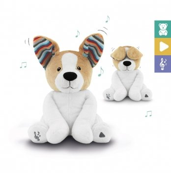 Мягкая музыкальная игрушка Zazu Дэнни PEEK-A-BOO