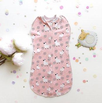 Кокон-пеленка, Merrygoround, Lama pink