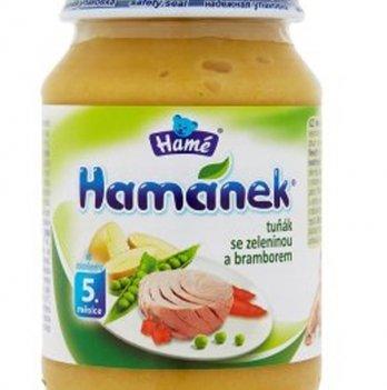 Пюре Hame Hamanek Тунец с овощами и картофелем 190 г