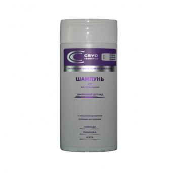 Натуральный шампунь для всех типов волос Cryo Cosmetics, бережный уход